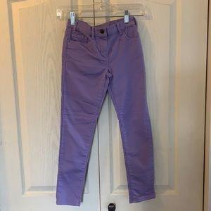 J.Crew crew cuts purple denim jeans size 10